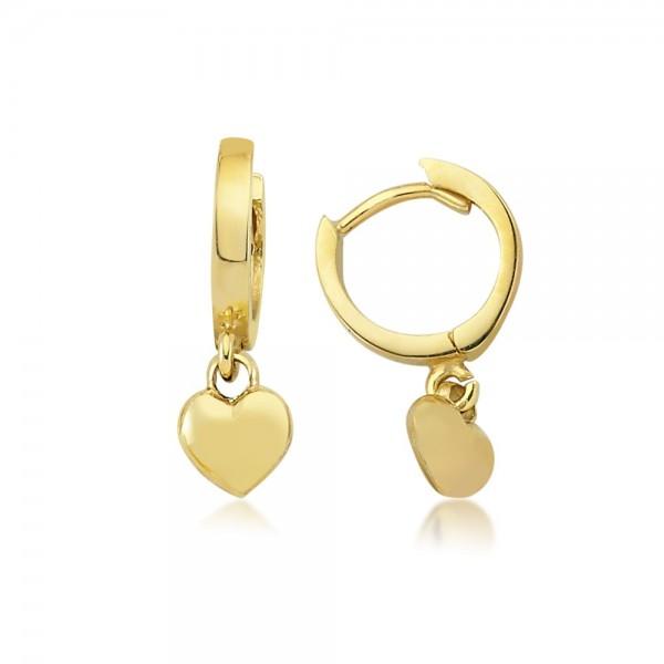 Ohrhänger Herz 333er Gold