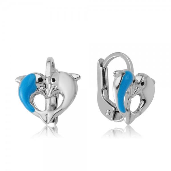 Ohrhänger Delphine 925 Sterling Silber