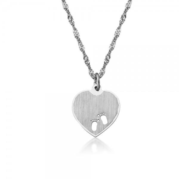 Anhänger Herz 925 Sterling Silber Gravur