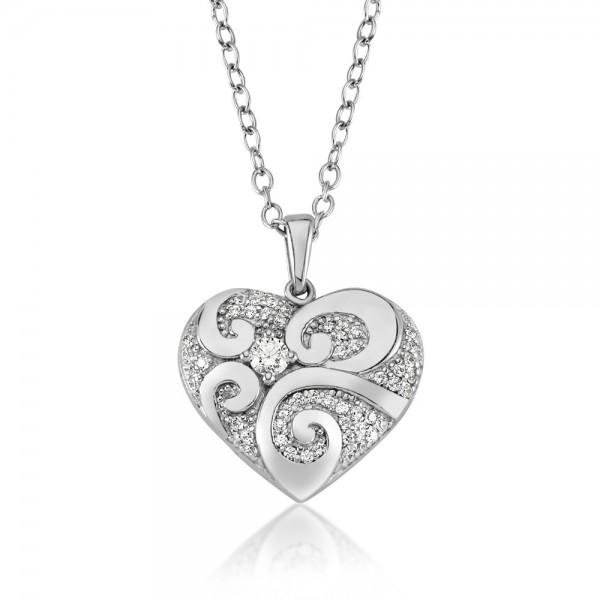 Anhänger Herz 925 Sterling Silber