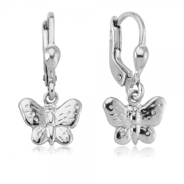 Ohrhänger Schmetterling 925 Sterling Silber