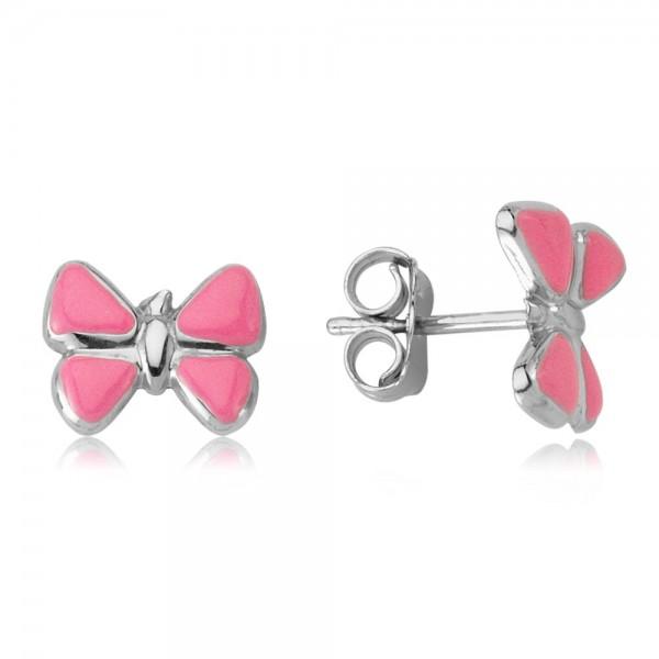 Ohrstecker Schmetterlinge 925 Sterling Silber