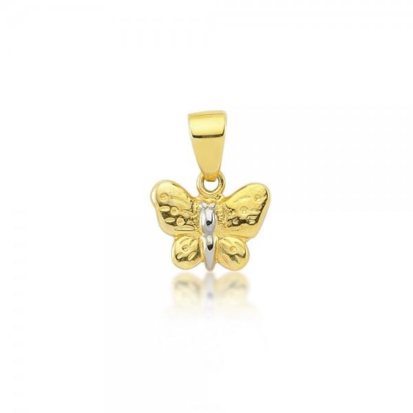 Anhänger Schmetterling 333er Gold