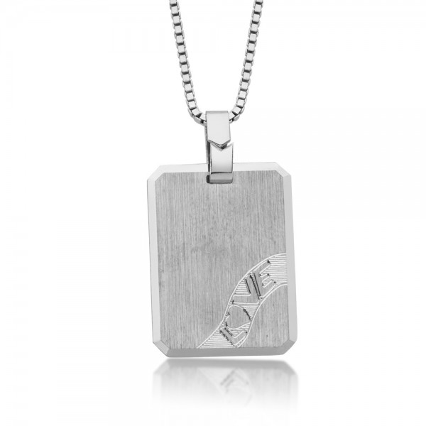 Anhänger Gravur 925 Sterling Silber
