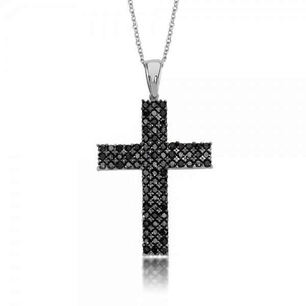 Anhänger Kreuz 925 Sterling Silber Zirkonia