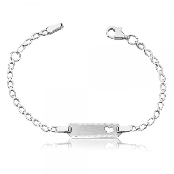 Kinderarmband 925 Sterling Silber Gravur