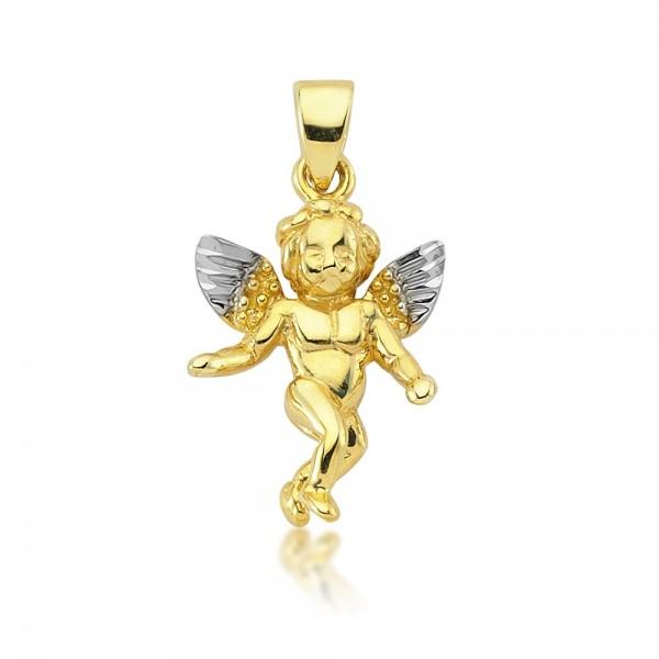 Anhänger Engel 333er Gold
