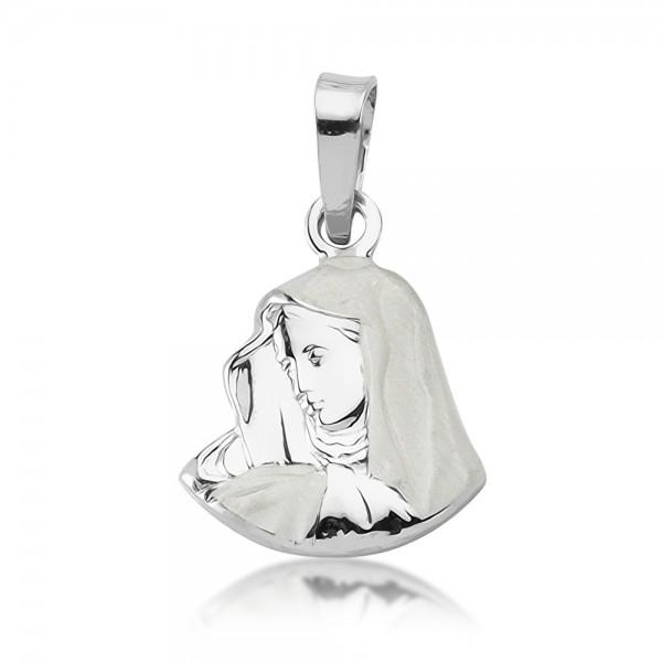 Anhänger Mutter Maria 925 Sterling Silber