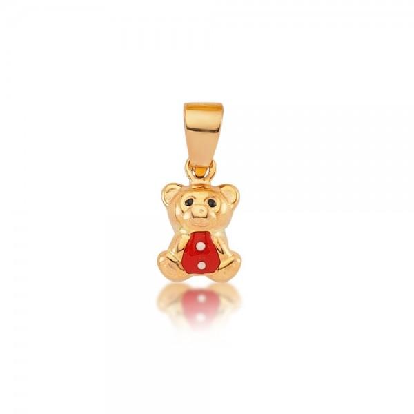 Anhänger Teddybär 333er Gold
