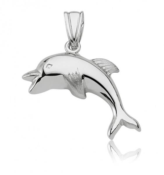 Anhänger Delphin 925 Sterling Silber