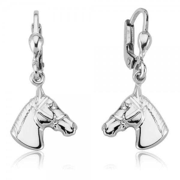 Ohrhänger Pferd 925 Sterling Silber