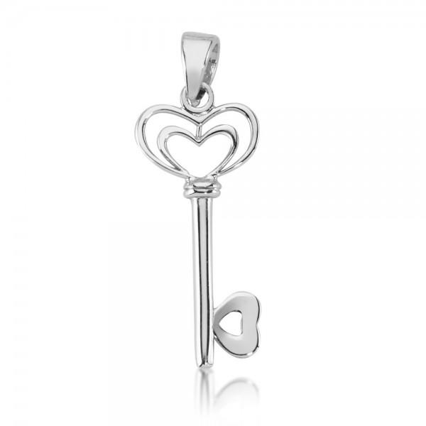 Anhänger Schlüssel 925 Sterling Silber