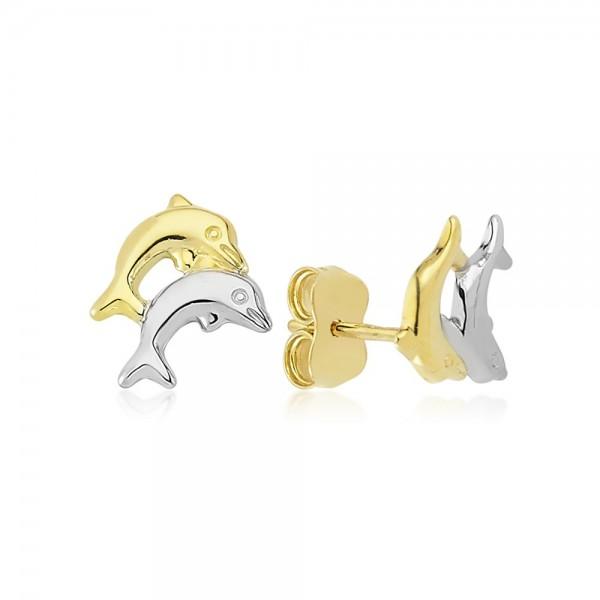 Ohrstecker Delphine 375er Gold