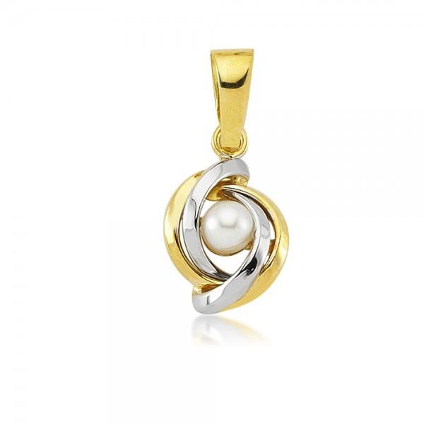 Anhänger 585er Gold Perle