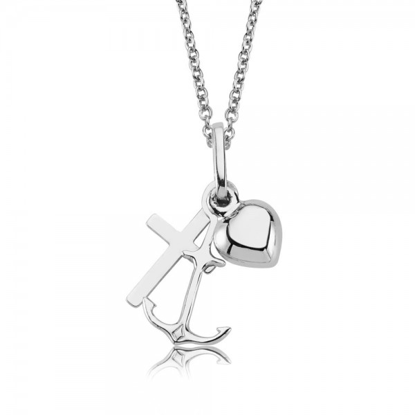 Anhänger Glaube Liebe Hoffnung 925 Sterling Silber